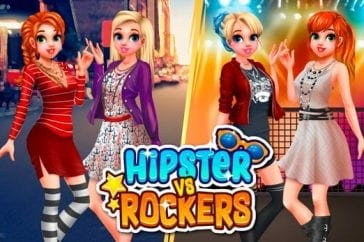 hipster vs rockers