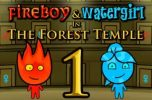 Jugar Fireboy and Watergirl 1 in the Forest Temple