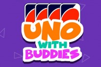 uno with buddies