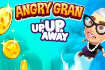 angry gran up up away