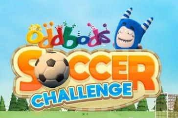 oddbods soccer challenge juego