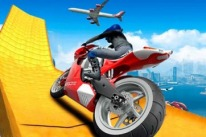 Moto Bike Track Stunts