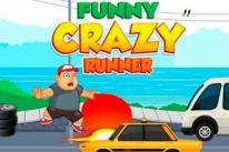 Funny Crazy Runner