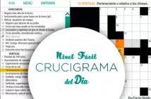 Jugar Crucigramas fáciles