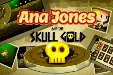 ana jones skull gold
