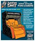 Súper estación para gamers