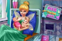 pixie twins birth
